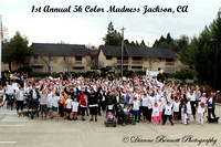 Operation Care 5k Color Run/Walk Color Madness 2-2-2013
